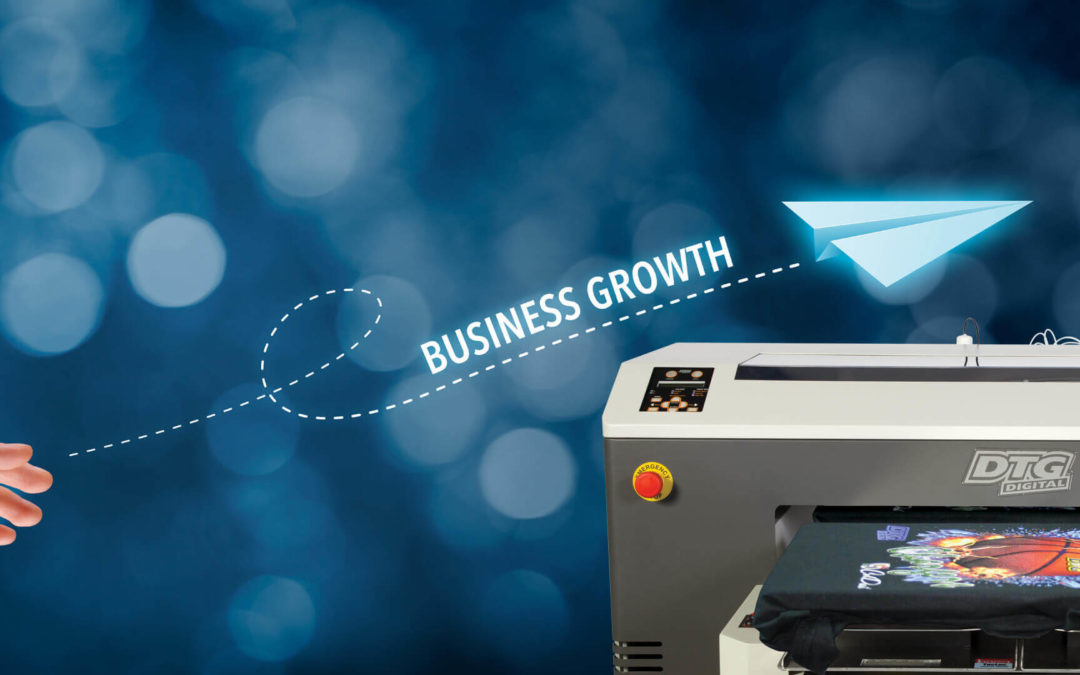 Managing Business Growth for Direct to Garment Printers