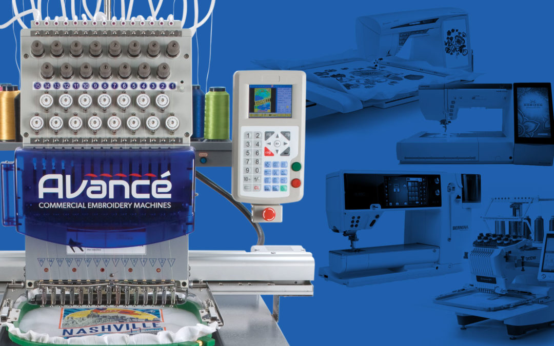 Why Avancé? The Difference Between Pro and Consumer Embroidery Machines